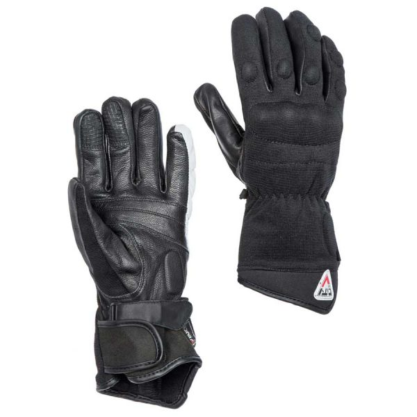 Gloves man Confort for motorcycle By City brand with finger knuckles protections