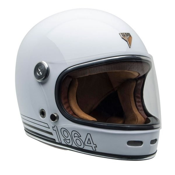 Casco Roadster white interior marrón By City