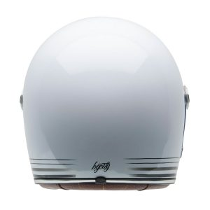 Casco Roadster white trasera By City