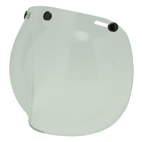 Bubble Clear Visor Two Strokes
