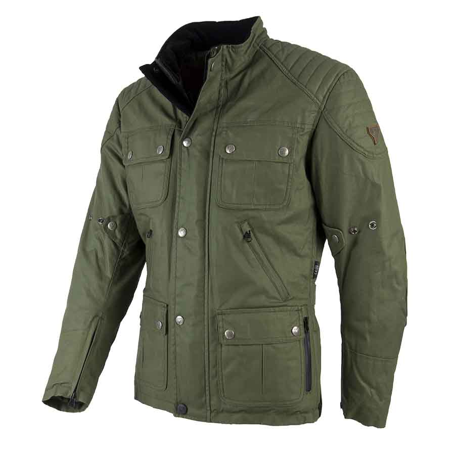 Jacket London Man Olive Green